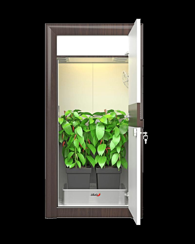 urban Chili LED Growbox front premium Growcabinet