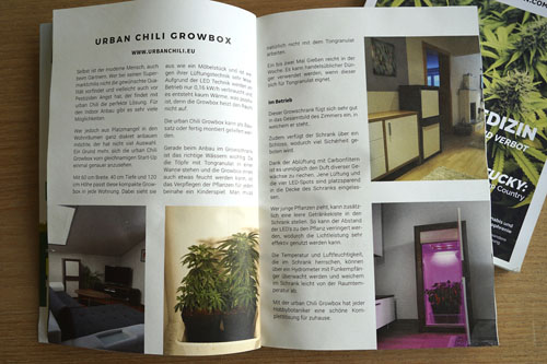 hanfmagazin growbox komplettset urban Chili