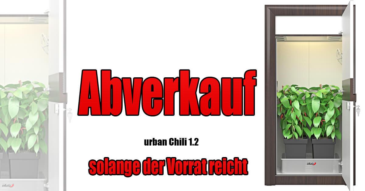 abverkauf growbox komplettset urban chili