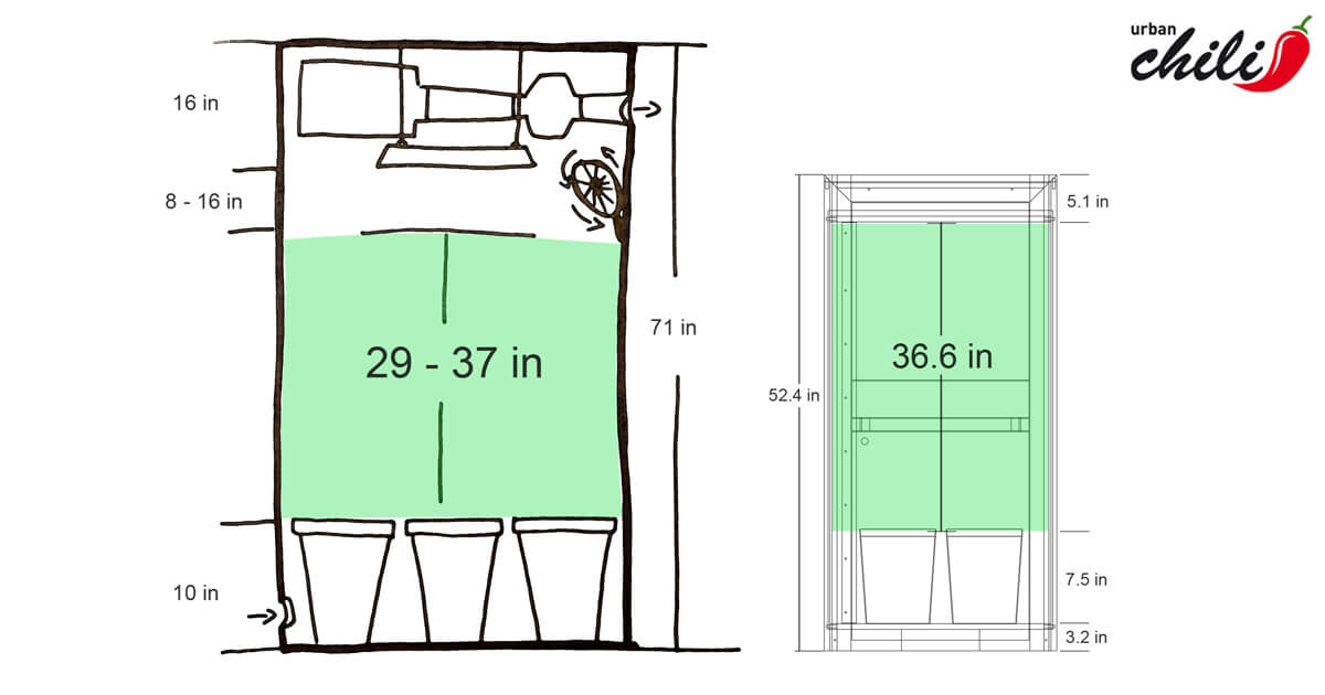 grow tent to grow cabinet high without checkbox
