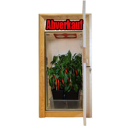 growbox abverkauf growschrank aktion urban Chili 1.0