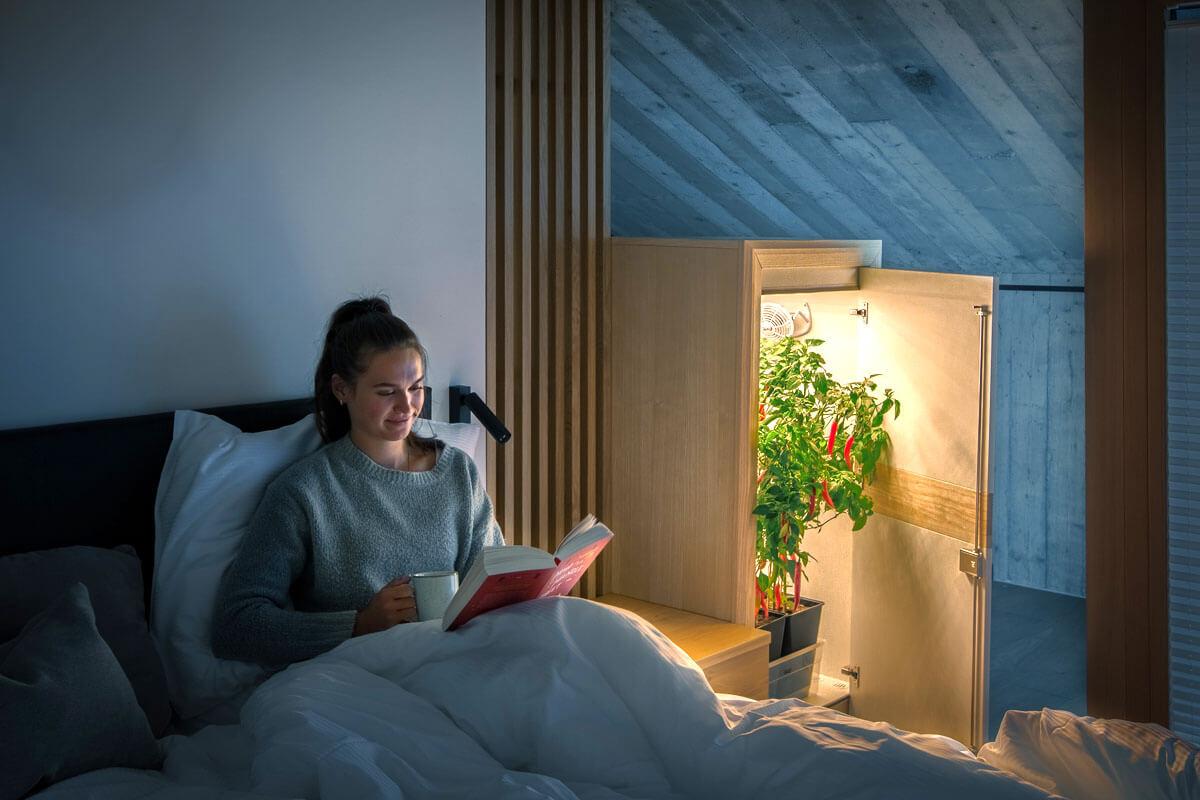 Schlafzimmer Growbox