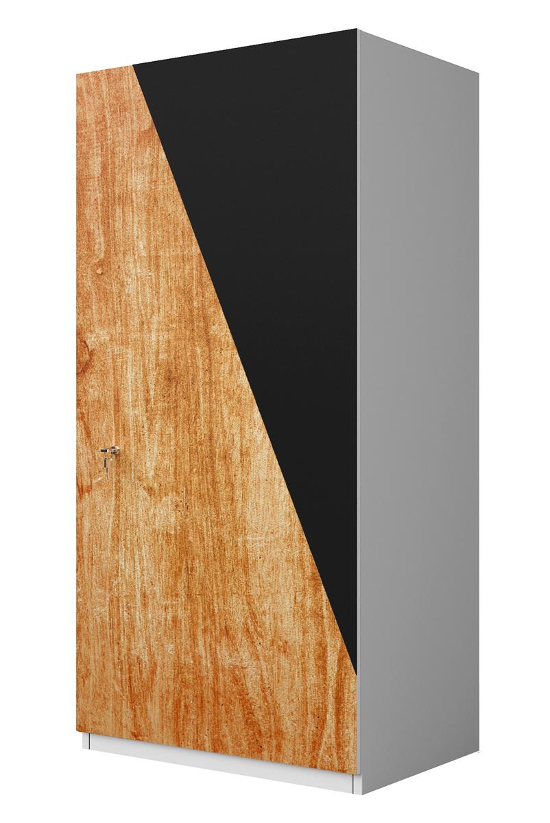 urban Chili light wood & grey