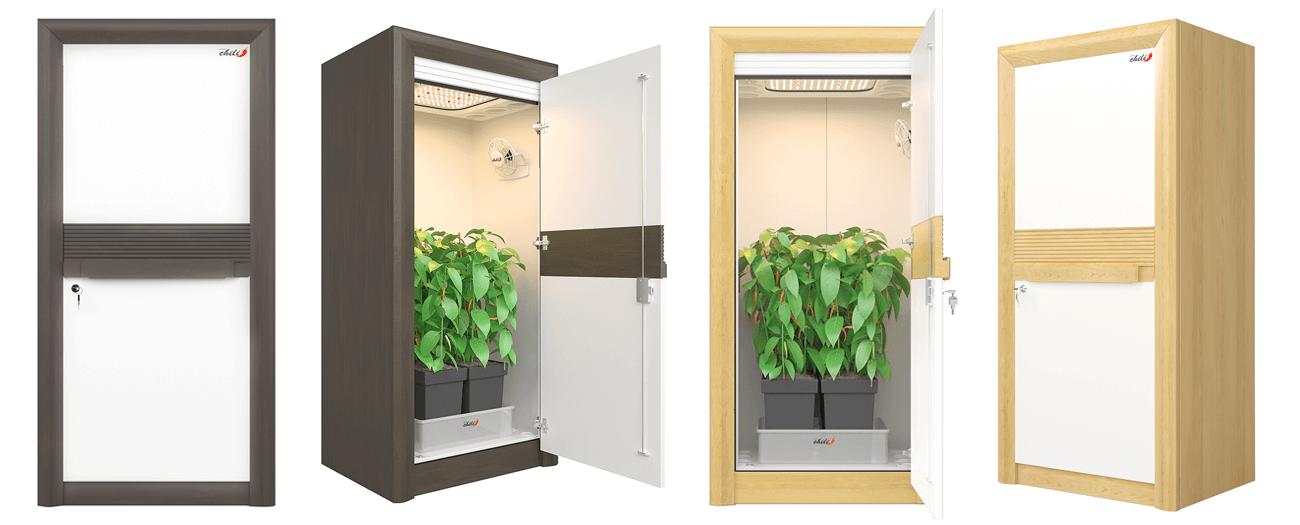 led grow cabinet urban Chili 3.0